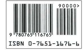 ISBN Number on UPC